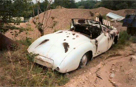 Jowett Jupiter as found