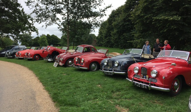 Jowett Jupiter meeting in Yorkshire in 2018