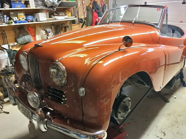 Jowett Jupiter restoration nearly done