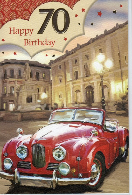 Birthday card Jowett Jupiter