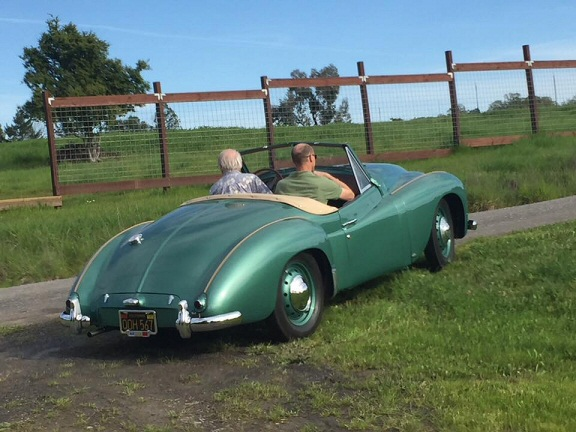Jowett Jupiter restored by Scott Renner