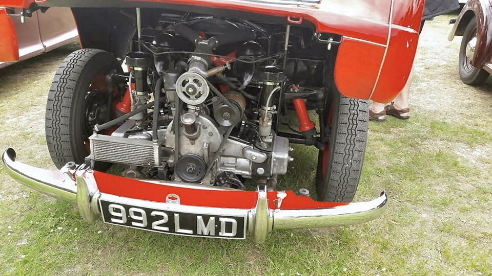 Jowett Jupiter engine bay