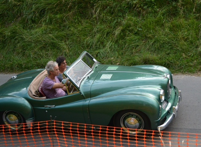 Jowett Jupiter on BoPeep hillclimb 2016