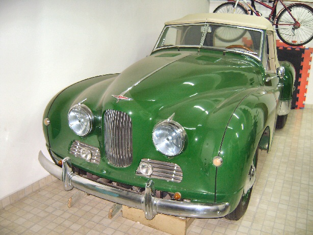 Jowett Jupiter restored in Brazil