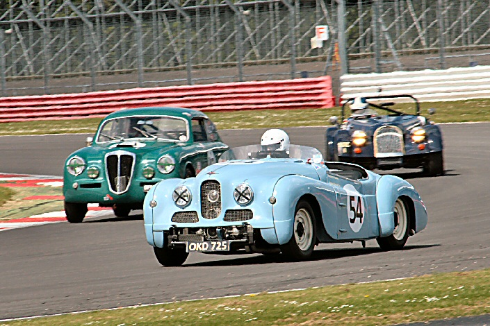 Jowett Jupiter Rich. Gane with Lancia Aurelia