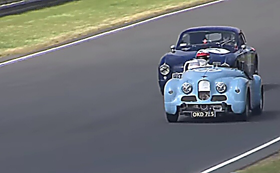 Jowett Jupiter at Le Mans 2016
