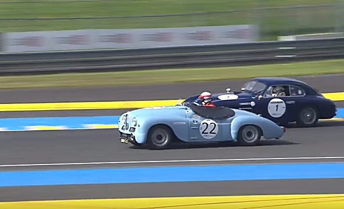 Jowett Jupiter at Le Mans Historic 2016