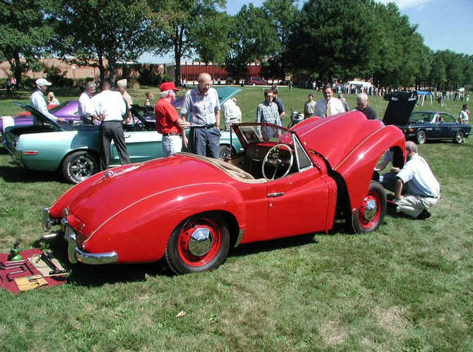 Jowett Jupiter on show USA