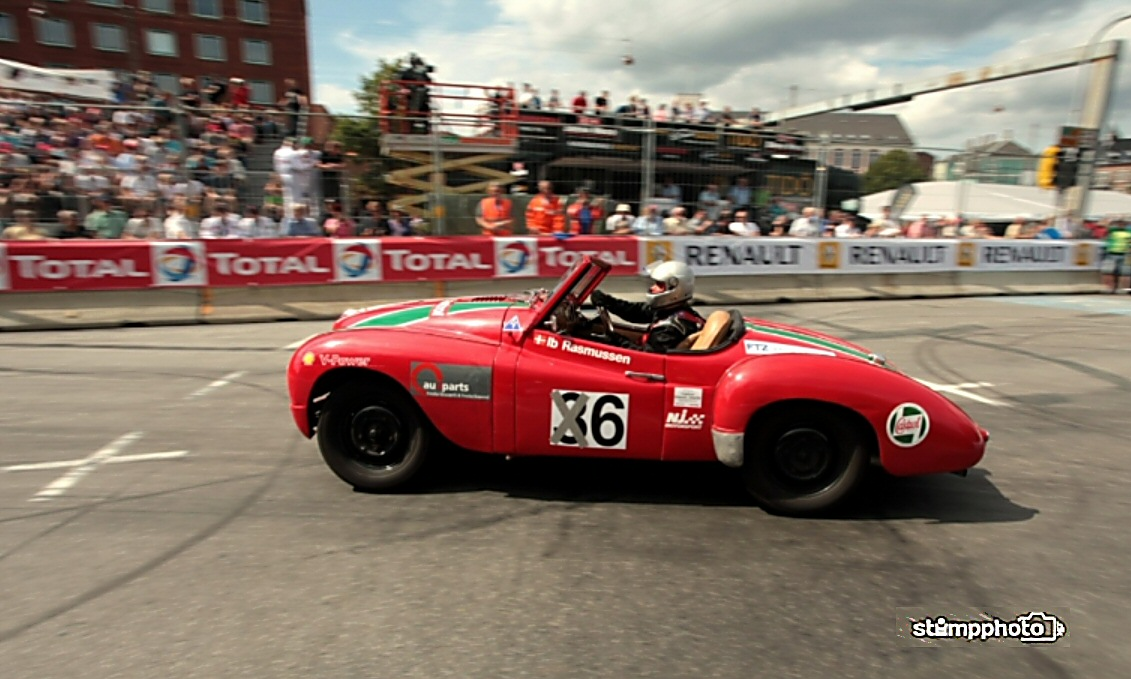 Jowett Jupiter racing in Copenhagen GP Aug 2014