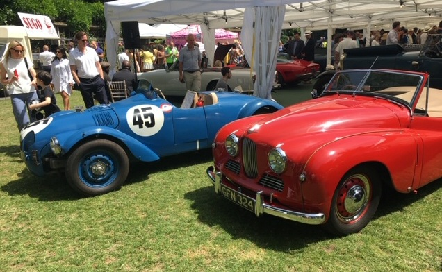 R1 Jupiter and standard Jowett Jupiter at belgravia event 2018