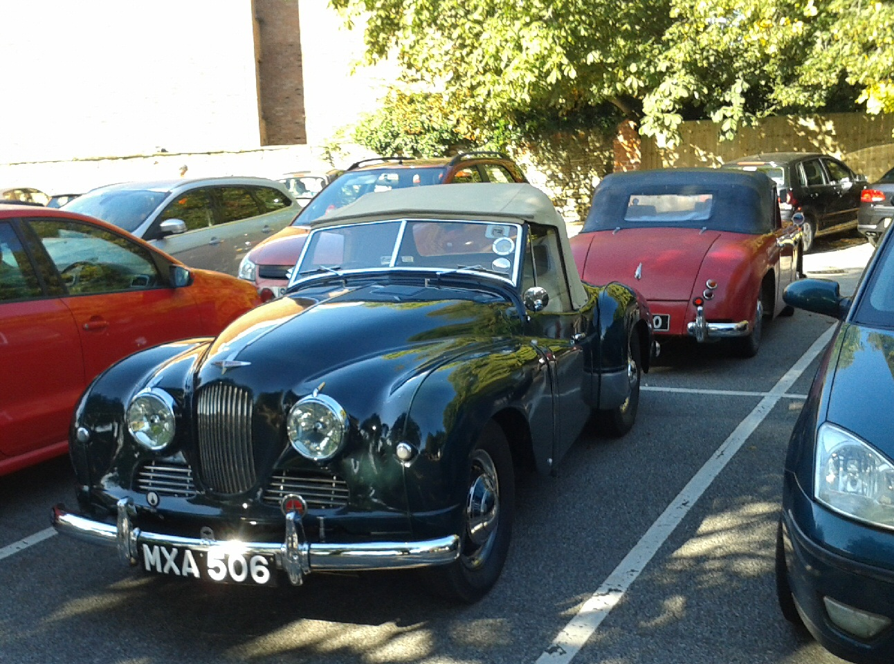 Jowett Jupiter at a JOAC meeting