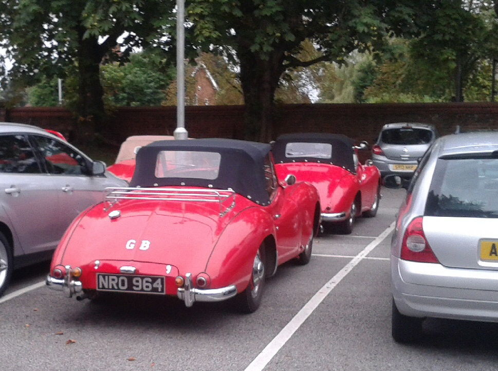 Jowett Jupiters at a 2015 JOAC meeting