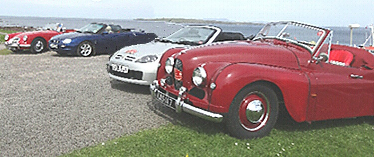 Jowett Jupiter at John O' Groats Scotland in May 2018
