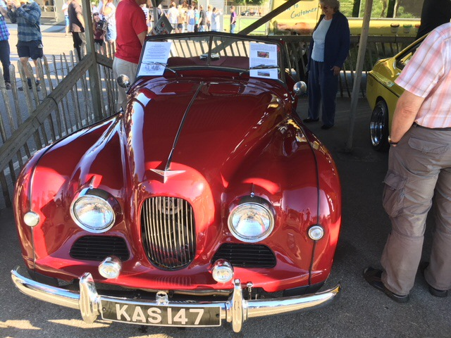 Jowett Jupiter at Goodwood August 2018