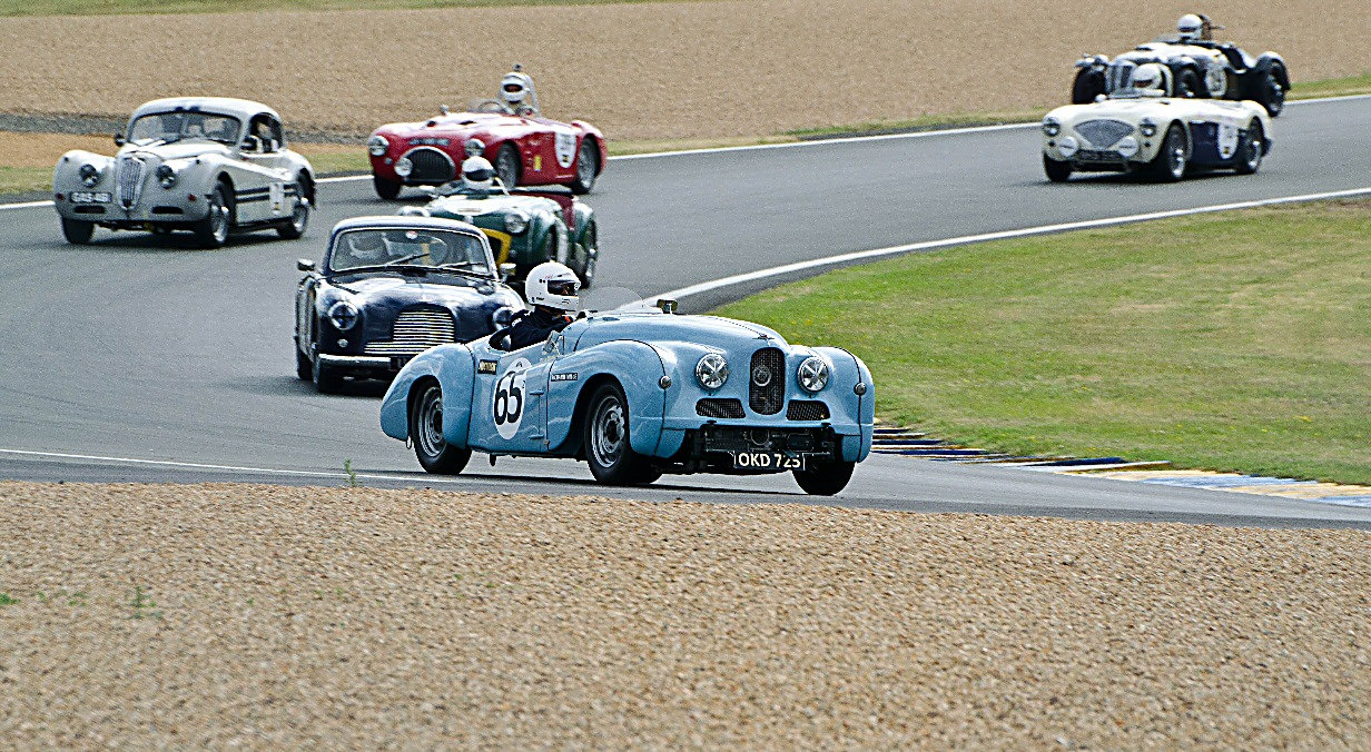 Jowett Jupiter at Le Mans Classic 2014