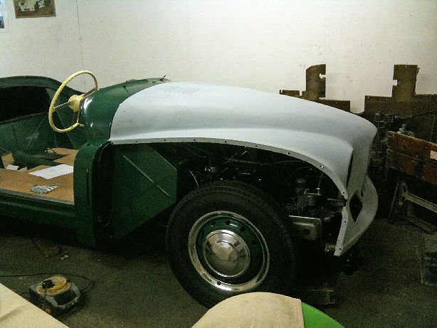 Jowett Jupiter under restoration 2014