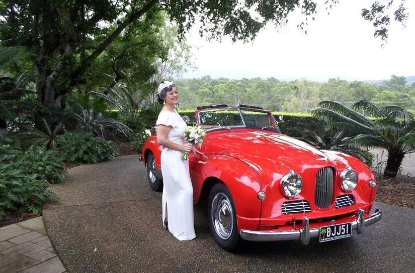 Jowett Jupiter wedding car in NZ