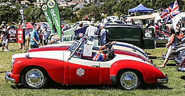 Three Jowett Jupiter in NZ event