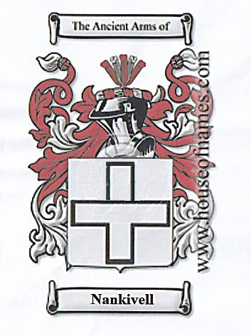Nankivell Coat of Arms