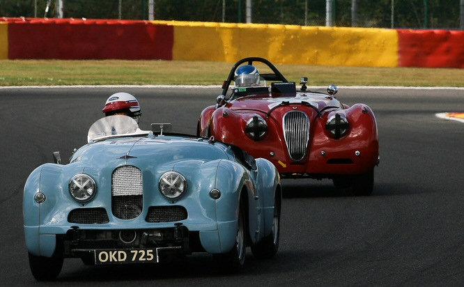 Jowett Jupiter at 2016 Spa historics