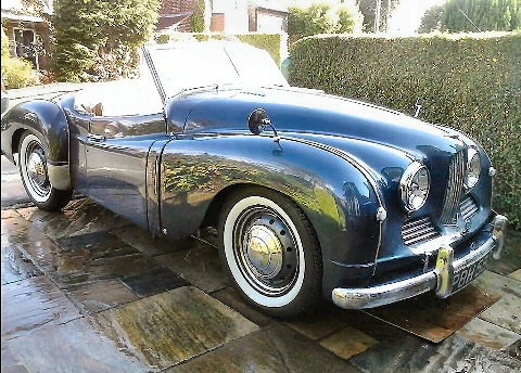 Jowett Jupiter restored and running 2016