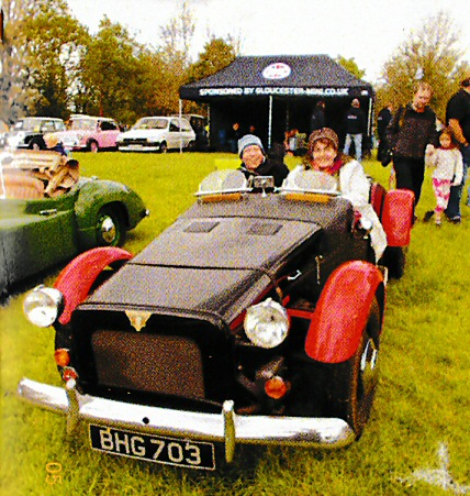 Jowett Jupiter with modern special body fitted 2000