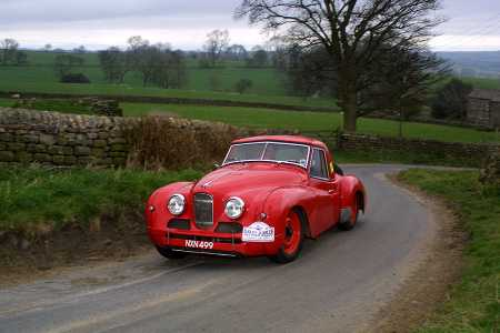 Jowett Jupiter in a club rally