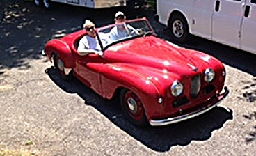 Jowett Jupiter of Theresa Miller in California