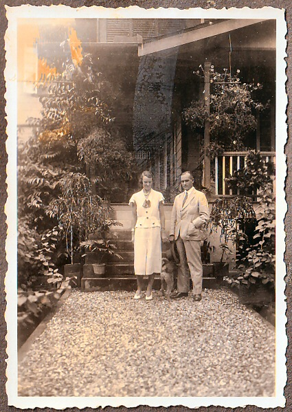 Mr & Mrs Howard Nankivell in Trinidad c.1935