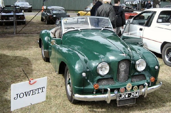 Jowett Jupiter at Australian show Feb 2018