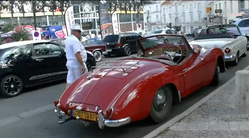 Jowett Jupiter at Angouleme France