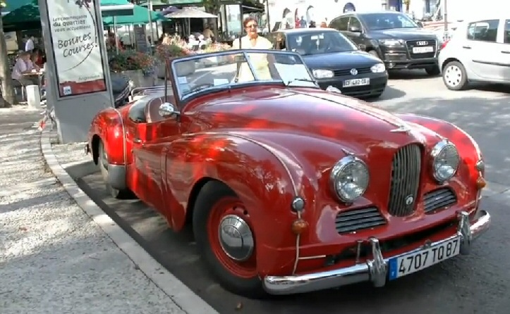 Angouleme Classic Car Race