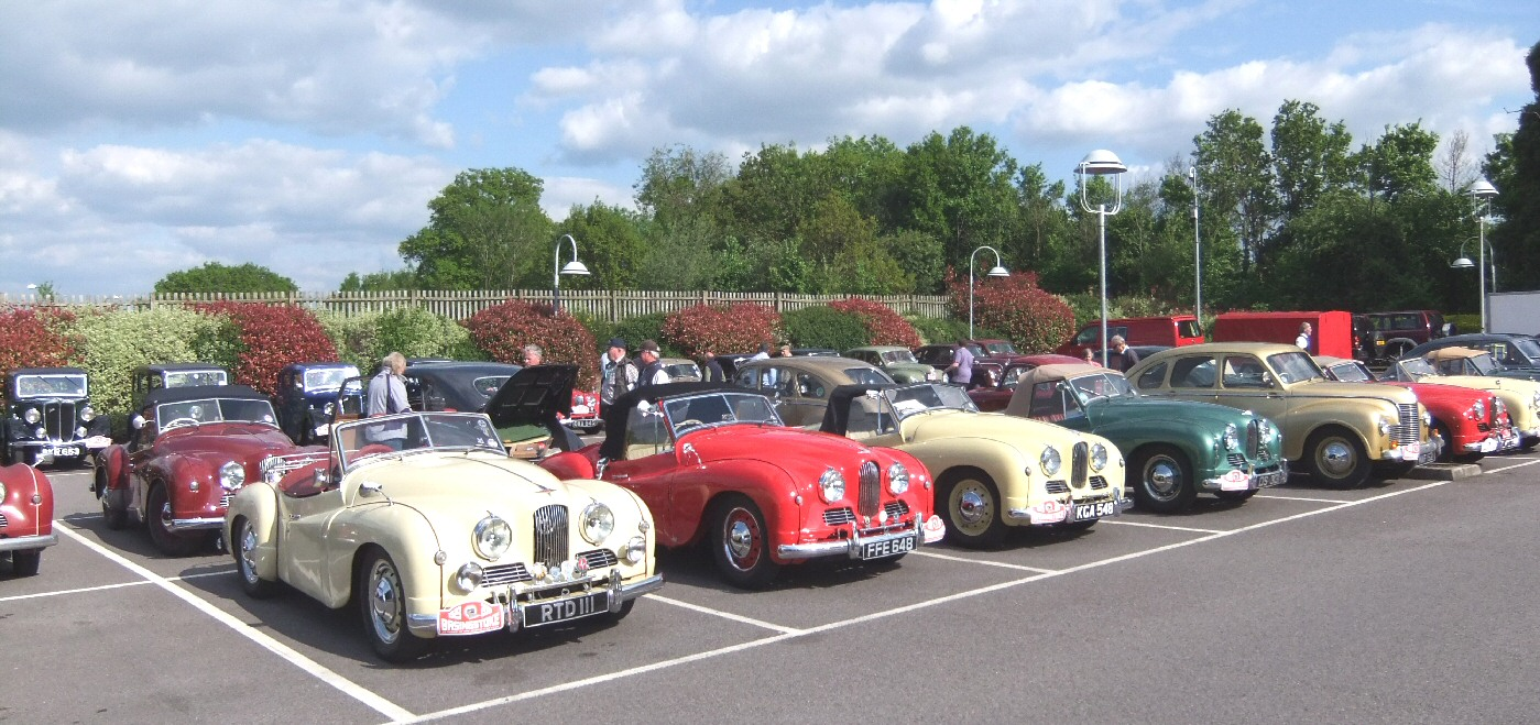 Jowett Jupiters at a JCC UK mtg 2013