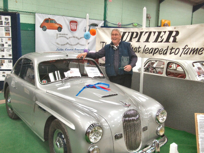 Jowett Jupiter Farina-body is best car of the show