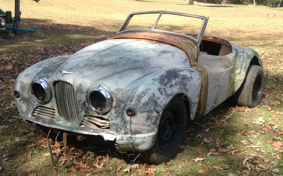 Jowett Jupiter for restoration