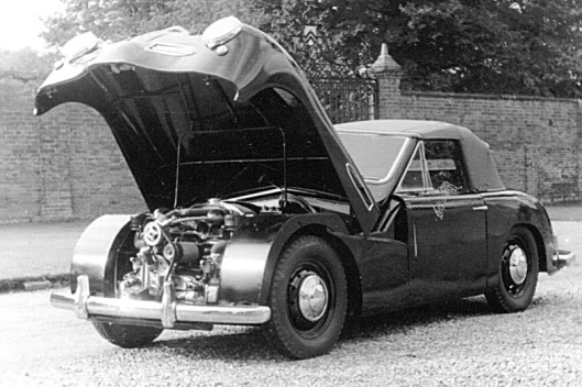 Jowett Jupiter Mead body