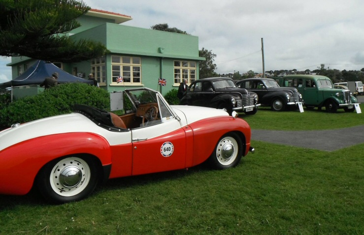 Jowett Jupiter of Bunty Condon in NZ