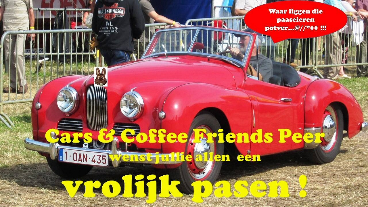 Cars & Coffee meeting in belgium