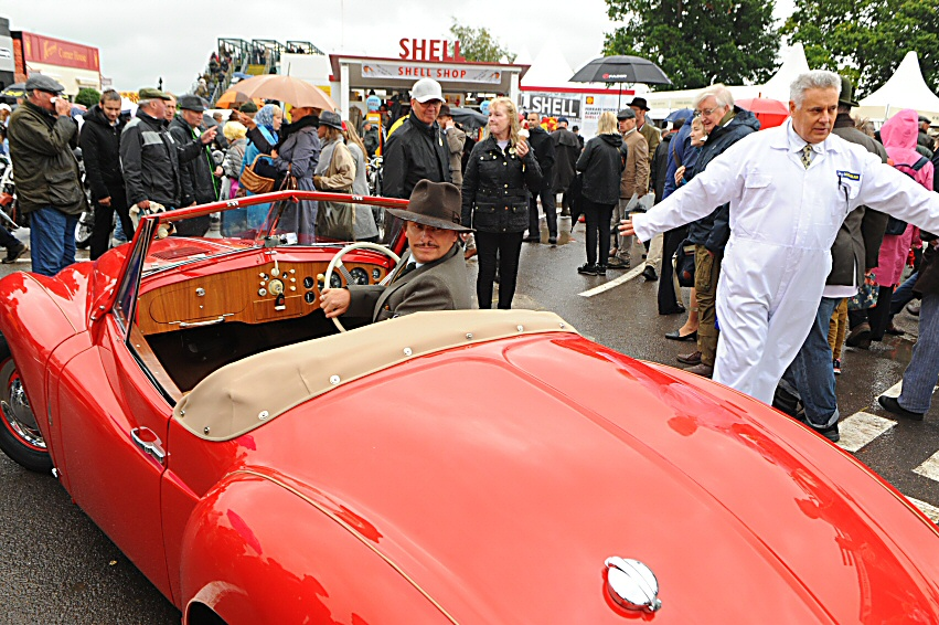 Jowett Jupiter at Goodwood classic car event 2017