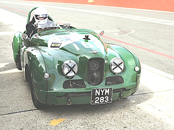 Jowett Jupiter at Brands hatch June 2019