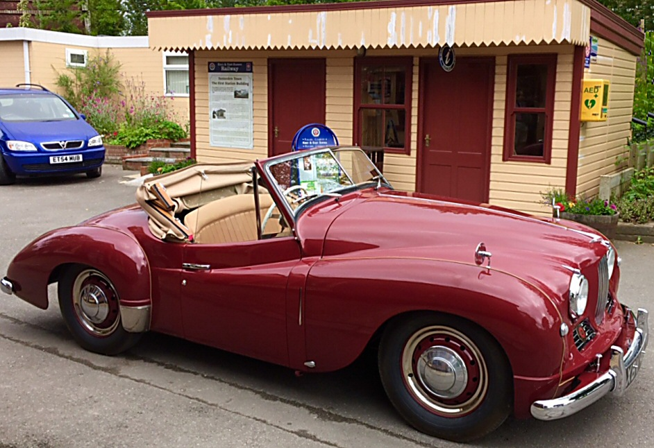 Jowett Jupiter now in GB well restored by Scott Renner