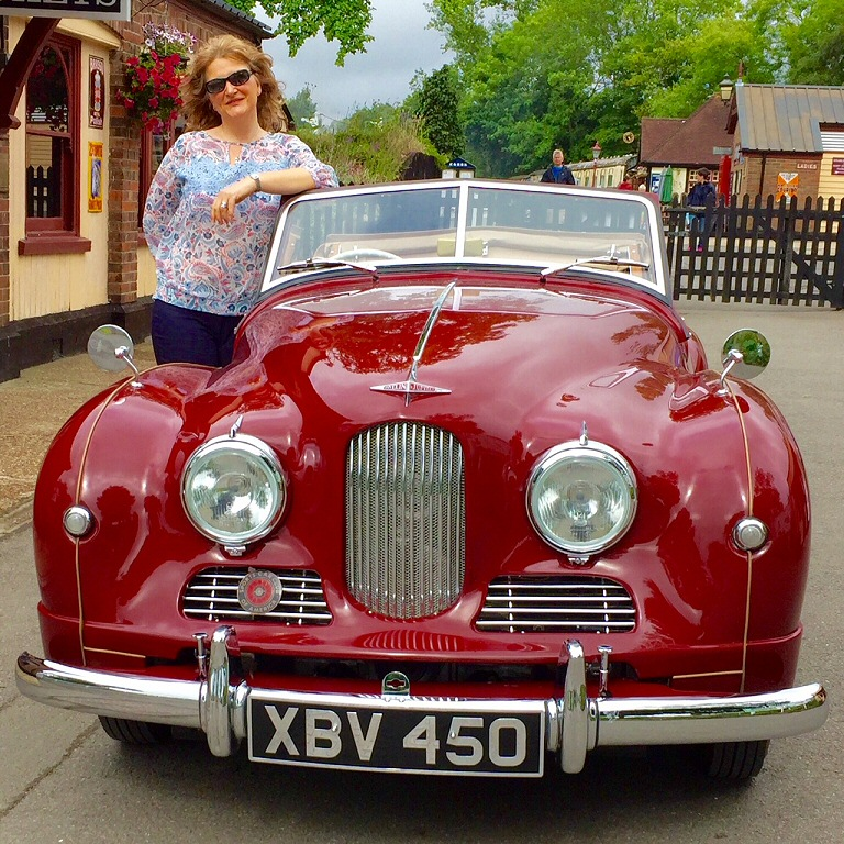 Jowett Jupiter in GB well-restored by Scott Renner