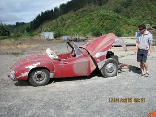 Jowett Jupiter in NZ to be restored