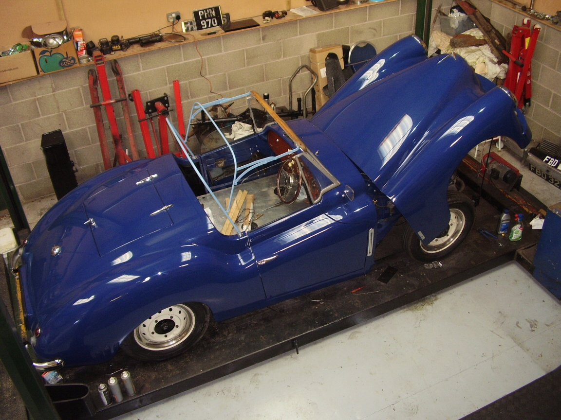 Jowett Jupiter under restoration