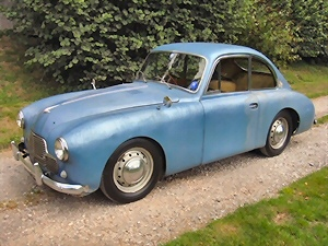 Jowett Jupiter fixed-head coupe