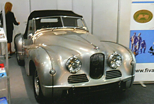 Jowett Jupiter at Essen Classic Car Show 2014
