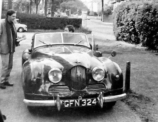 Jowett Jupiter in 1963 after its restoration