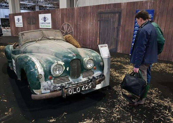 Jowett Jupiter at NEC restoation show 2018