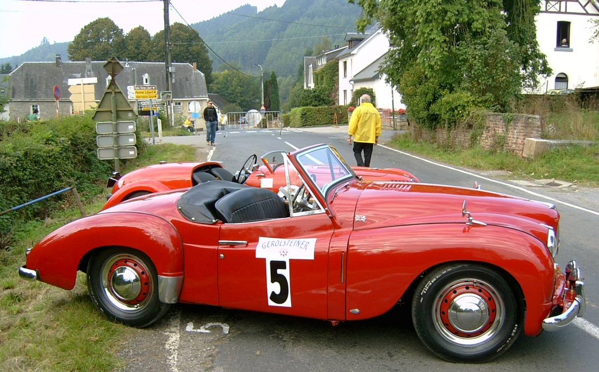 Jowett Jupiter in France or Belgium in 2019 owner Belgian