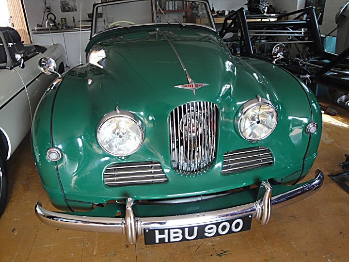 Jowett Jupiter well-restored